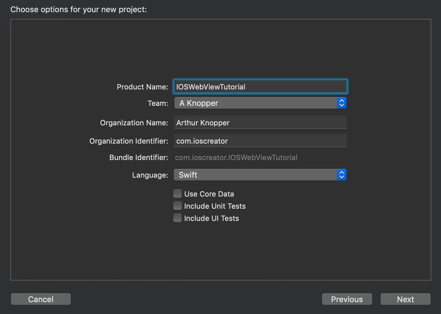 Web View iOS Tutorial - iOScreator