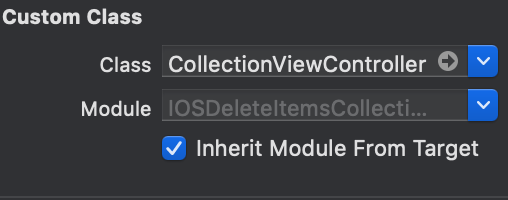 Delete Items from Collection View Controller iOS Tutorial