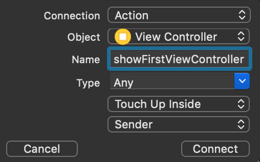 show-frist-view-controller-action.png