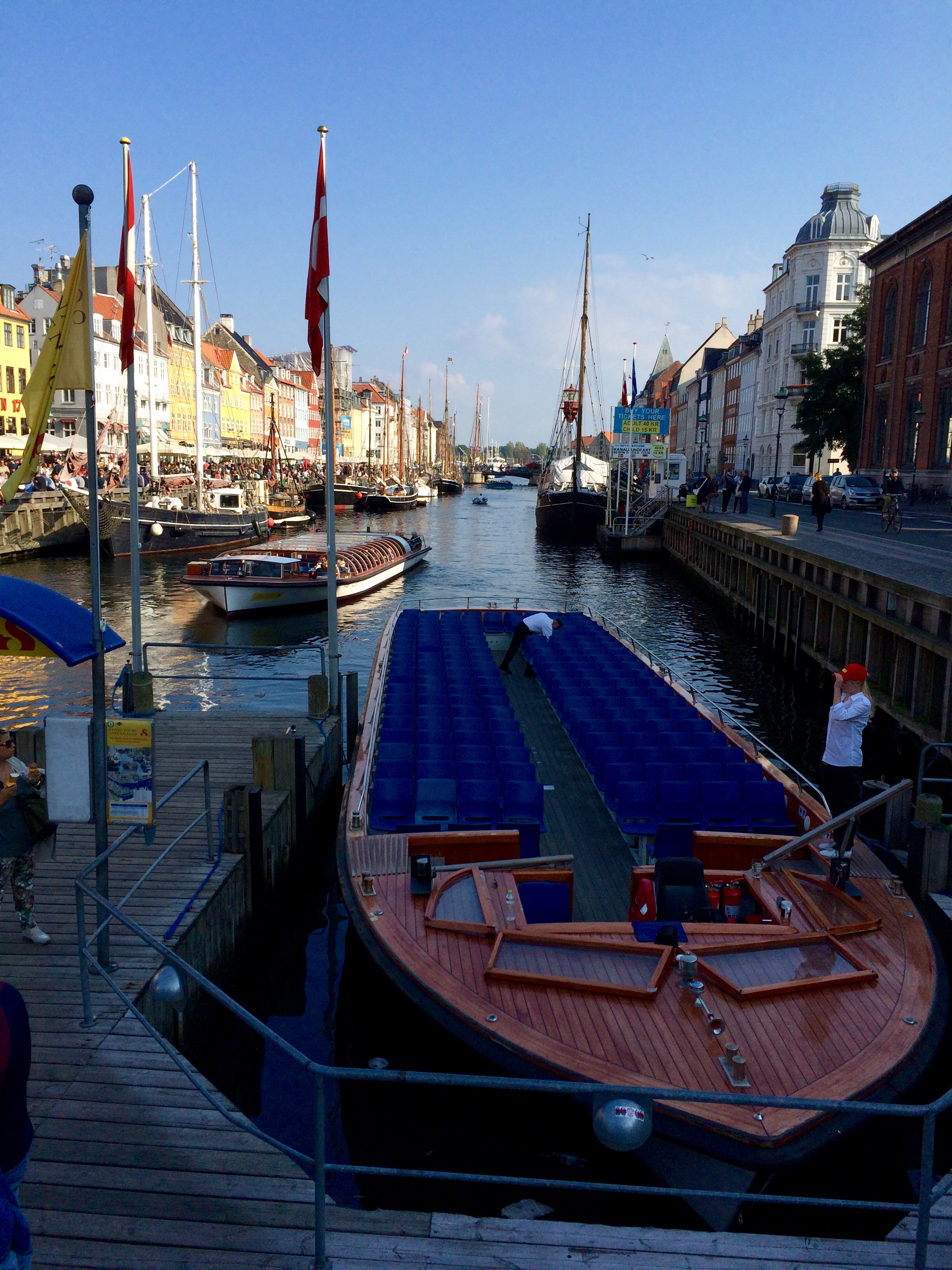 A canal tour is a must in Copenhagen. BYO Carlsberg.