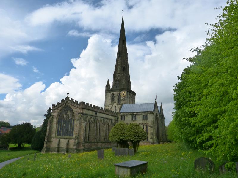 St Oswald's Church, Ashbourne