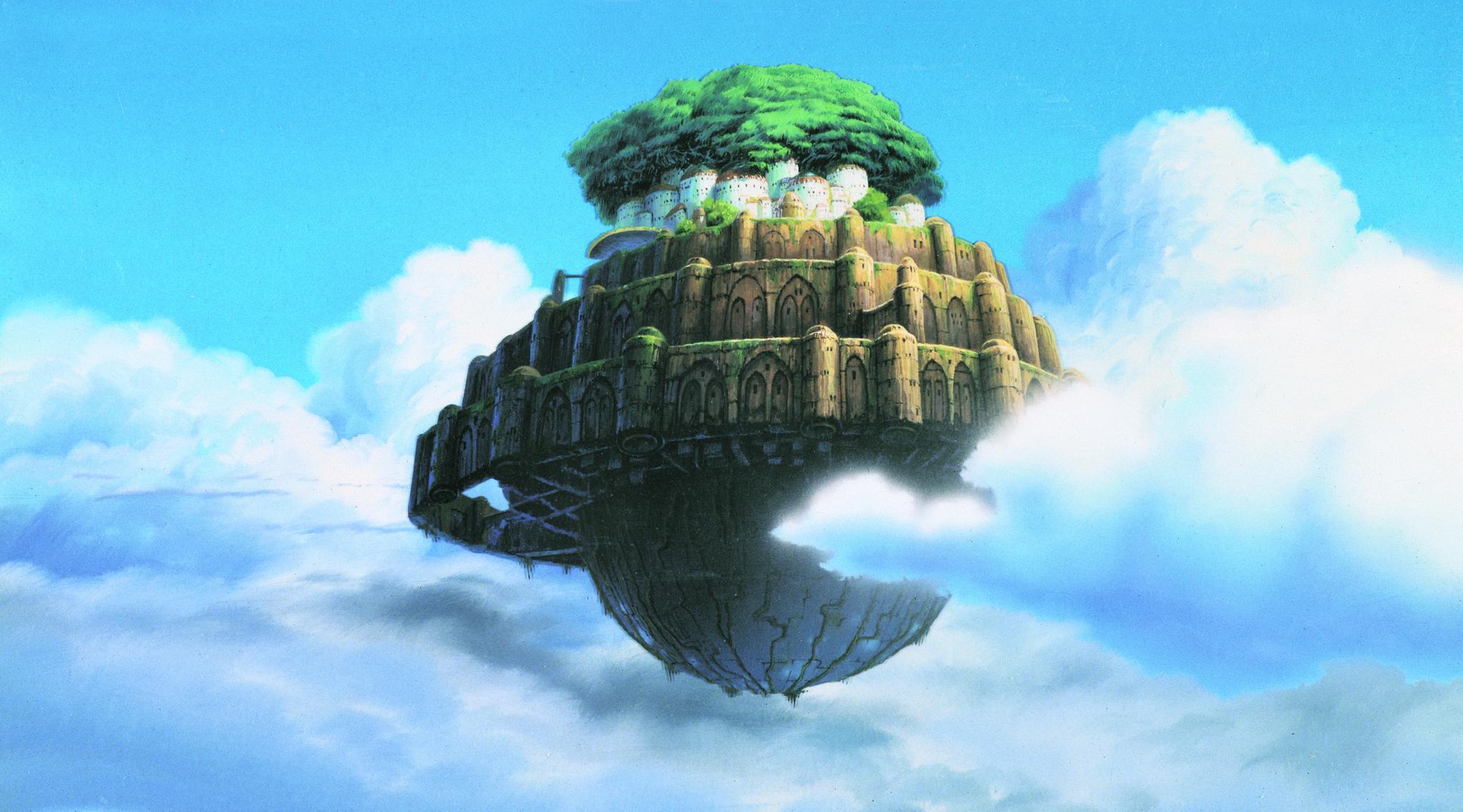 Miyazaki's Laputa: Castle In The Sky