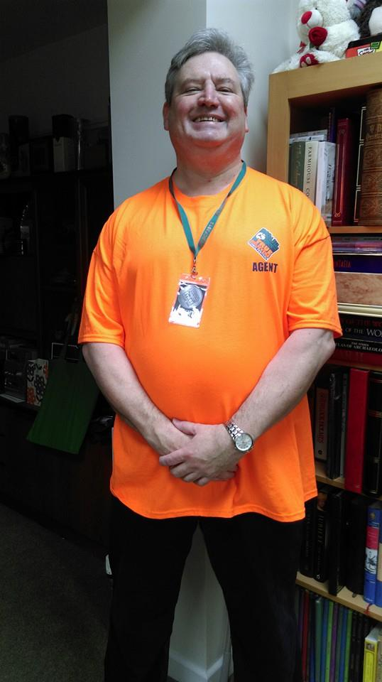 The Agent Shirt as modelled by Agent Nigel.