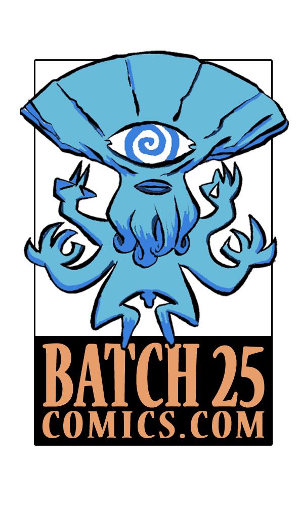 BATCH-25 COMICS - SciFi mini comics.WEBSITE