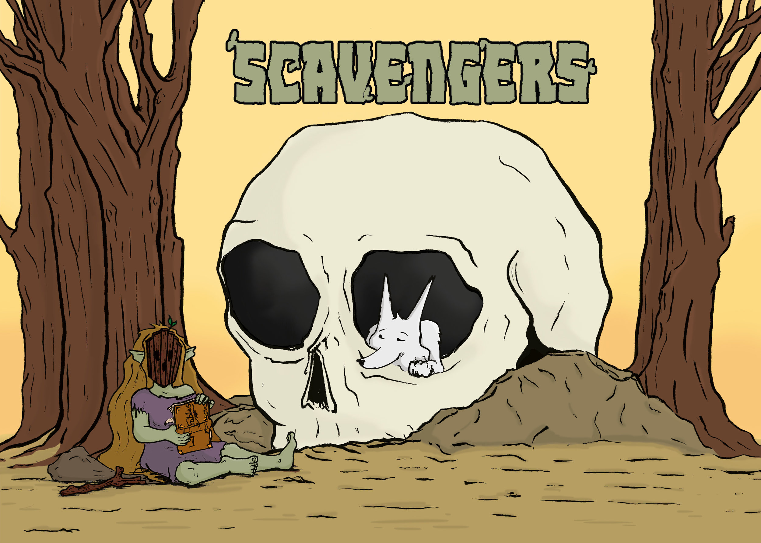 SAMMY WARD - Sammy Ward Draws is Illustrator of the spooky and whimsy. Writer and Illustrator of Scavengers, a fantasy adventure comic.WEBSITETAKES CARD PAYMENTS