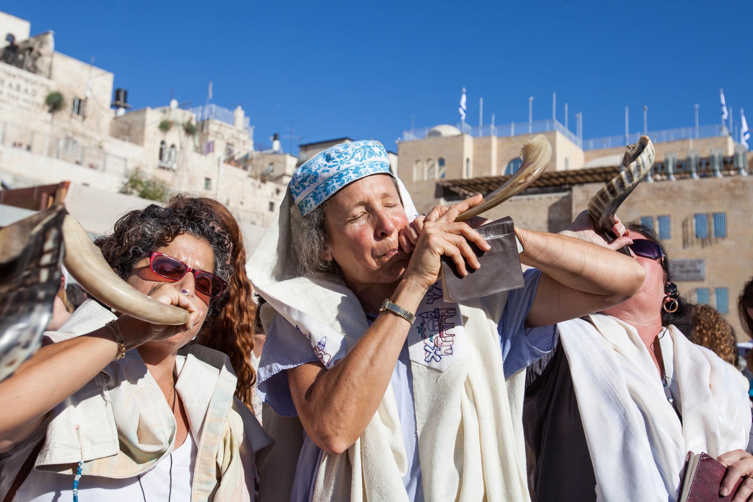 Women of the Wall Rosh Hodesh Elul