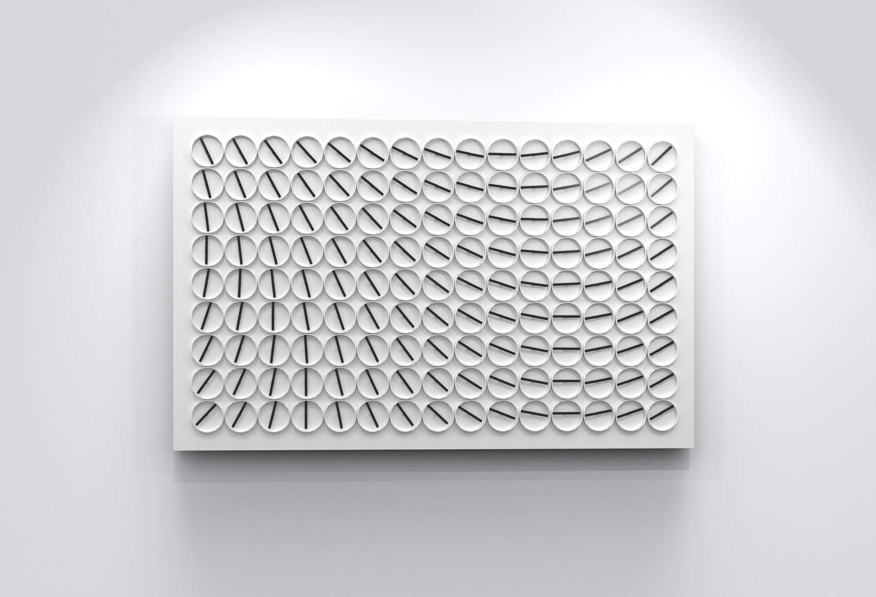 A million Times 135 by Humans since 1982 for Crosby Street Hotel, New York.