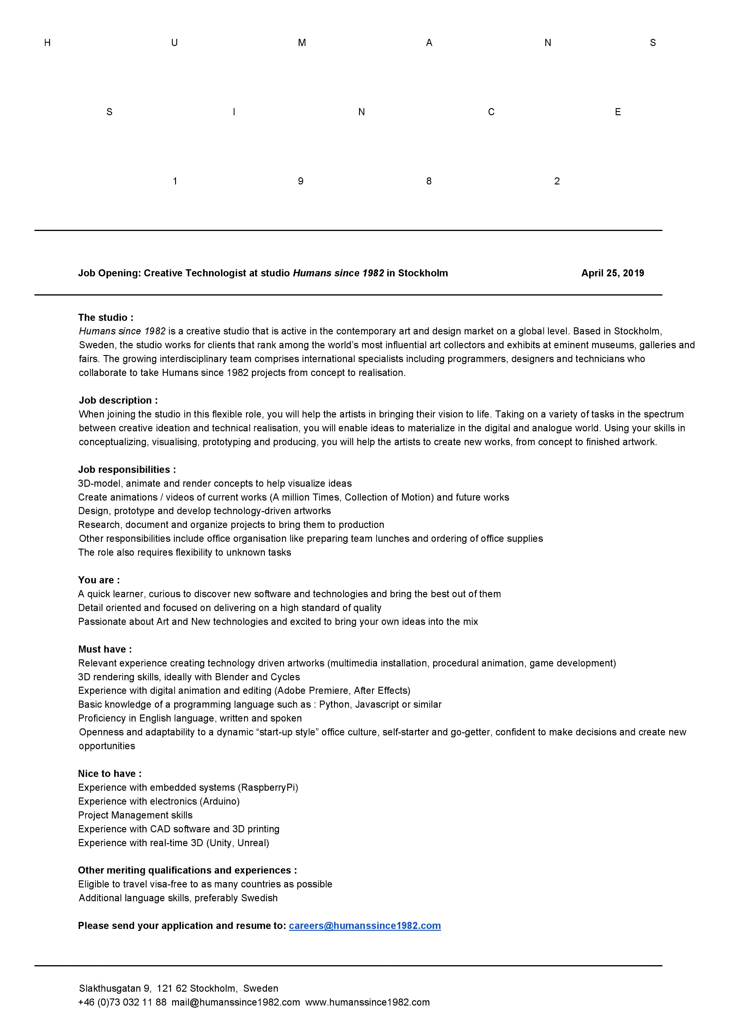 HS1982 Job Opening Creative Technologist.jpg