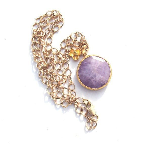 Gold and Amethyst