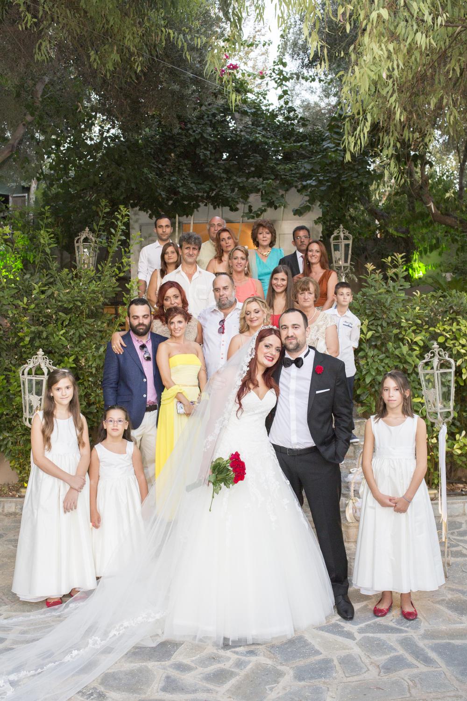 οικογενειακη φωτογραφιση γαμου