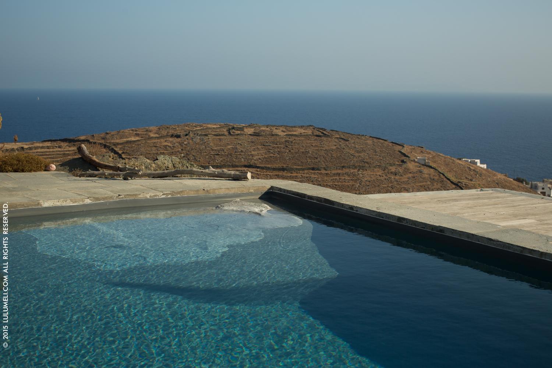infinity pool faros sifnos