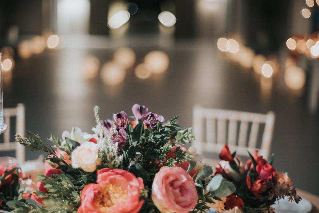 tabletop flowers greece
