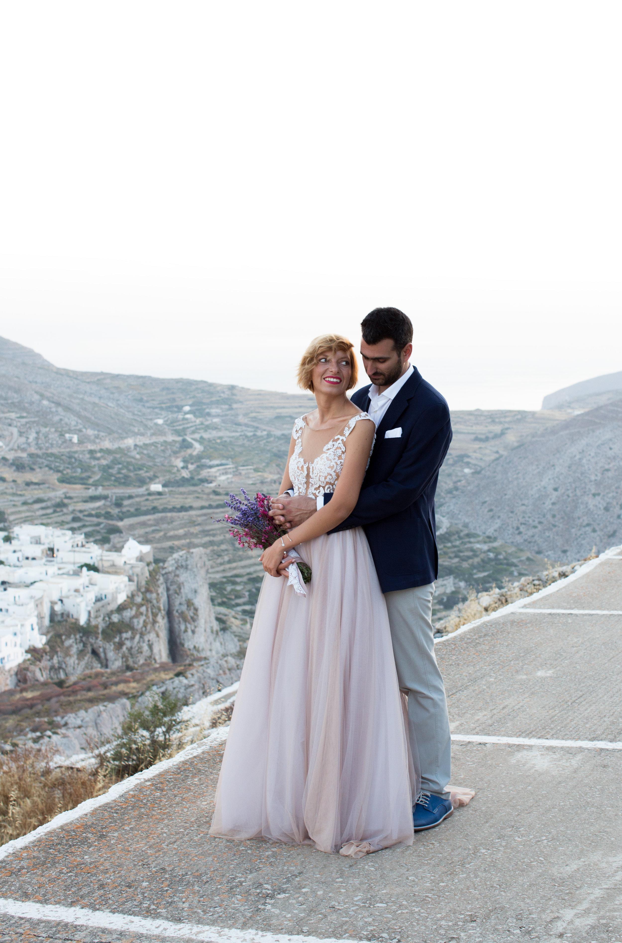 γαμος στη φολεγανδρο νησι