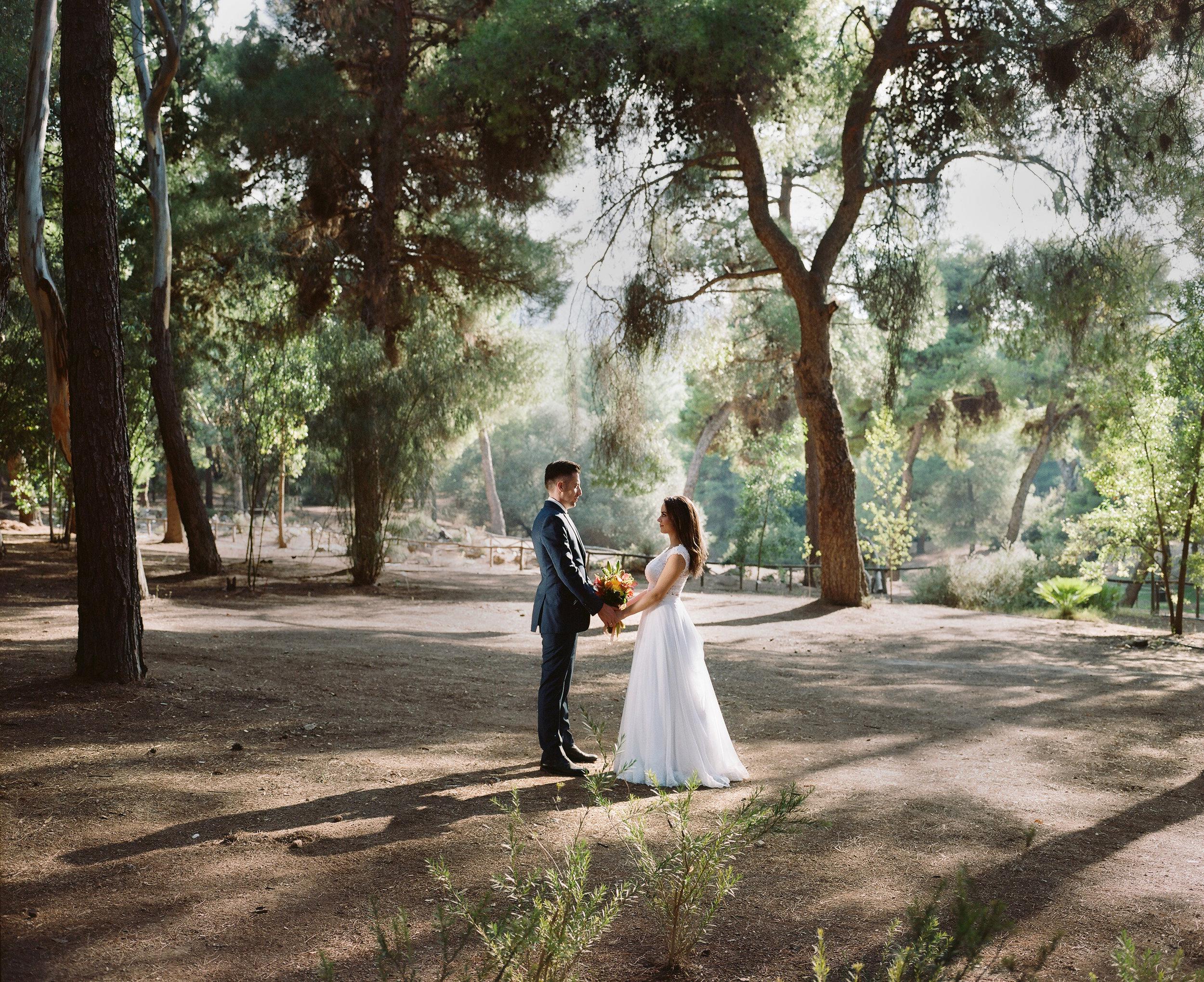 φωτογραφιση γαμου με φιλμ