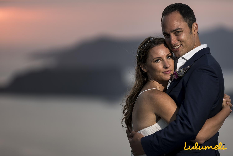 santorini photography wedding elopement