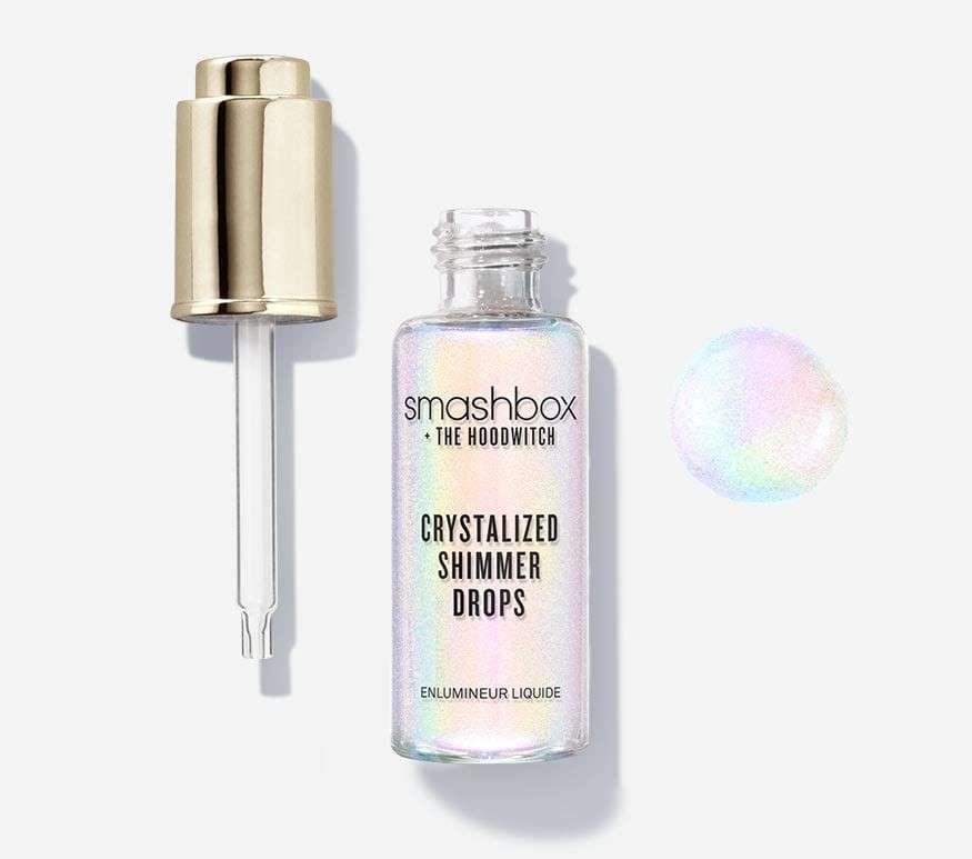 2 σταγόνες  Smashbox shimmer drops  26€ στα χείλη ή στο πρόσωπο για απολυτη νυφική λάμψη…