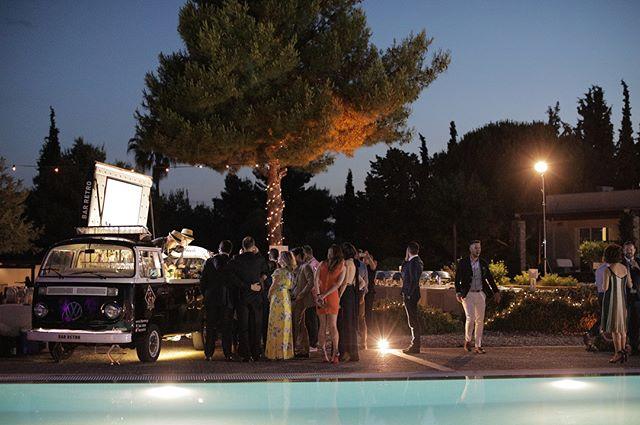 Mobile bar by  BAR RETRO  Video & φωτογραφία γάμου :    Lulumeli