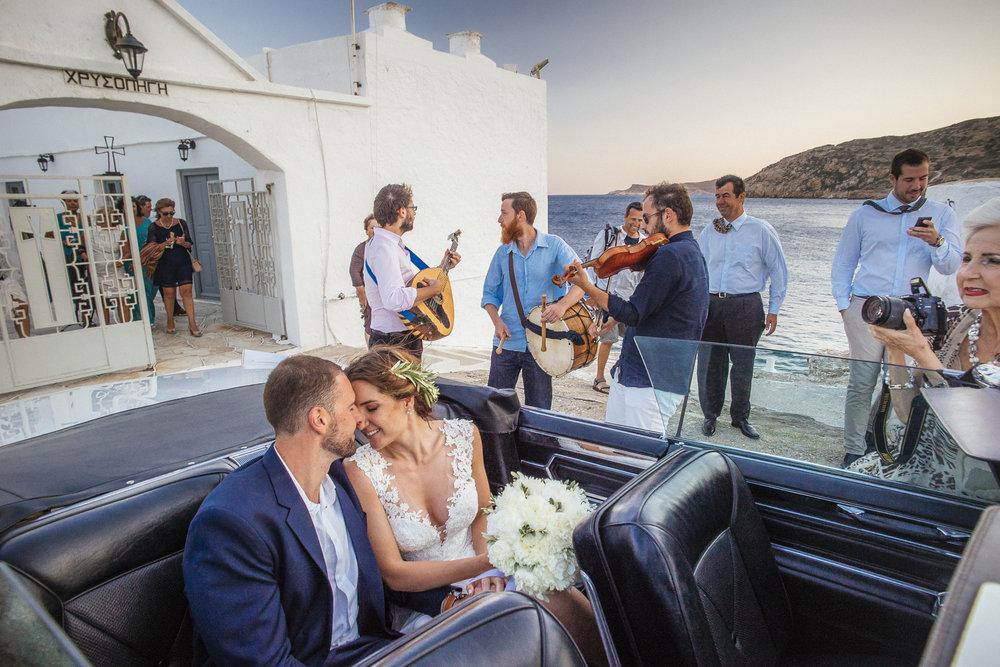 Φωτογραφία & video γάμου Lulumeli στην Σίφνο