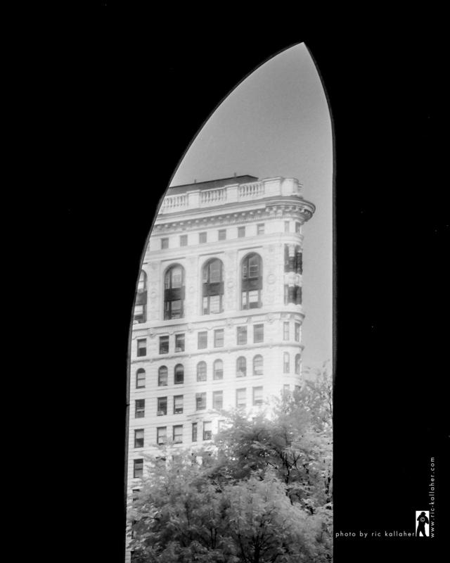 Flatiron Through the Arch