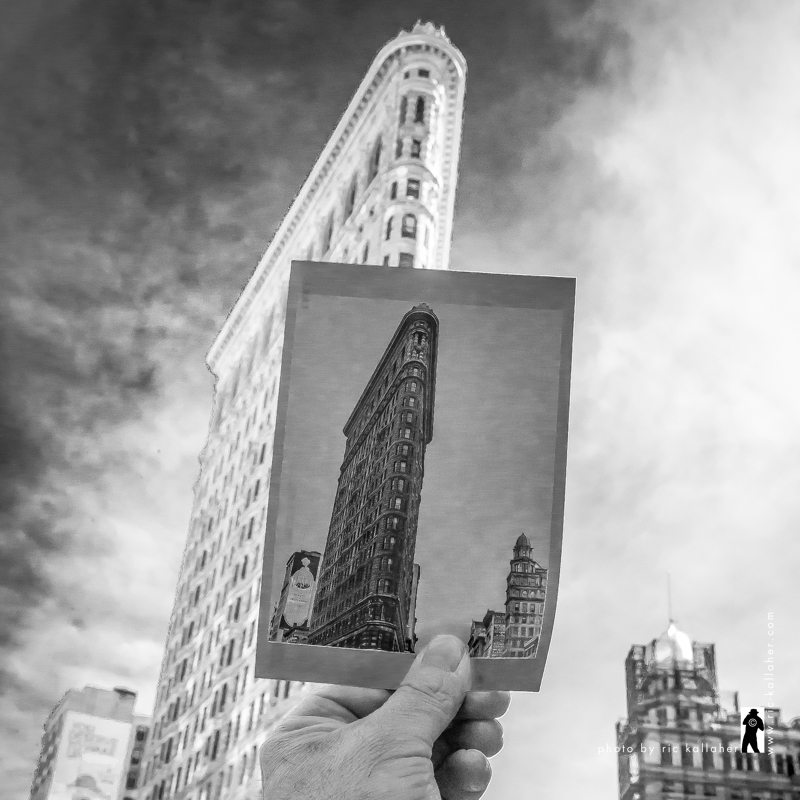 Flatiron, Now and Then with Berenice Abbot