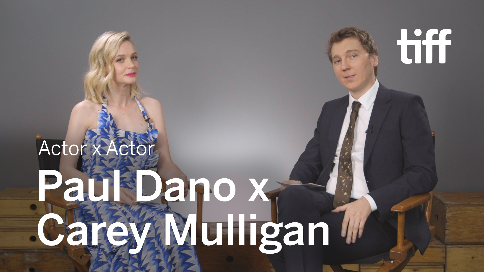 Carey Mulligan x Paul Dano | Actor x Actor Conversation | TIFF 2018