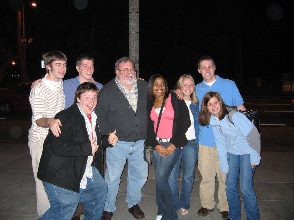 Miami B (l eft to right) Rob Walter (2005), Nick Borger, (2008). John McNulty (2005), Herron, Carmen Brown (2007), Lindsay Richards (2006), Kenny Grose (2005), Stephanie Patton.
