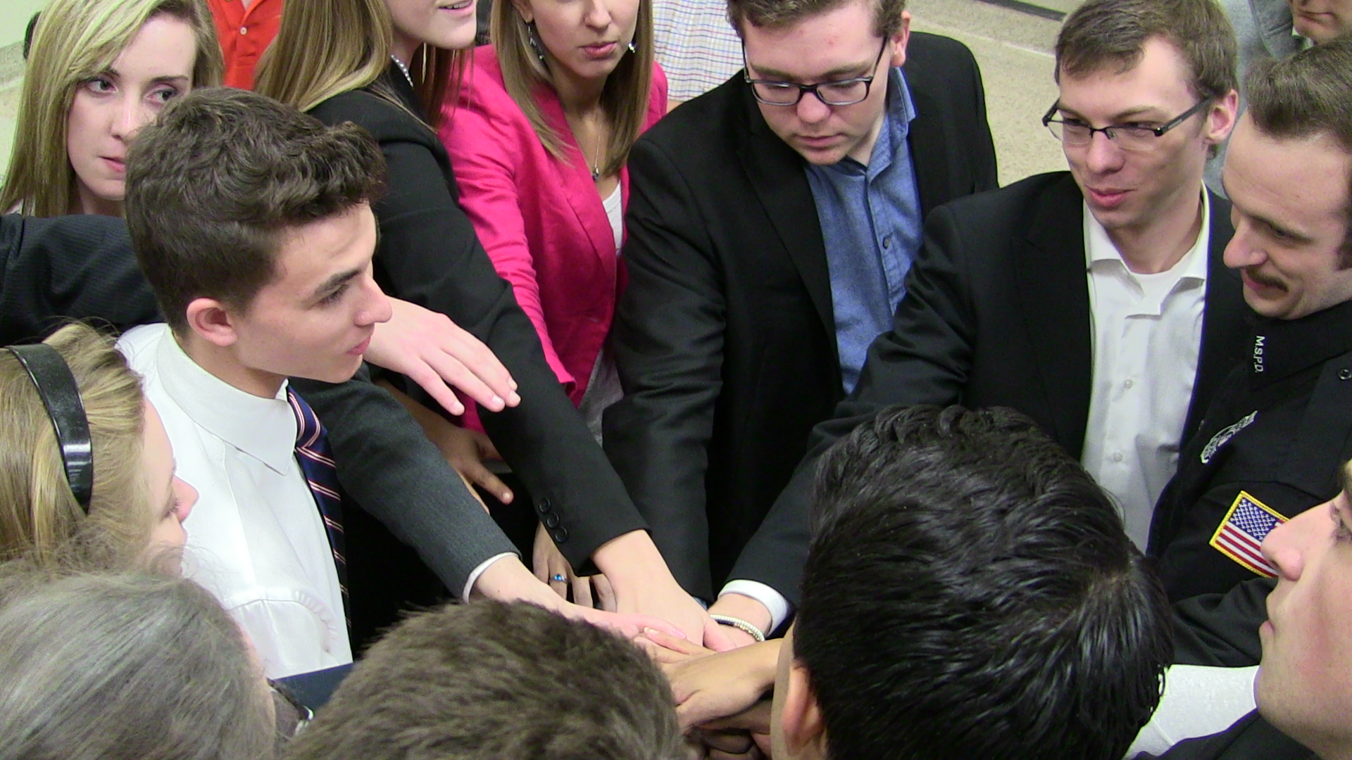 The A and B team would meet before the Championship round, before two matches against Northwestern, and before they ran their last case of the Fall Season.
