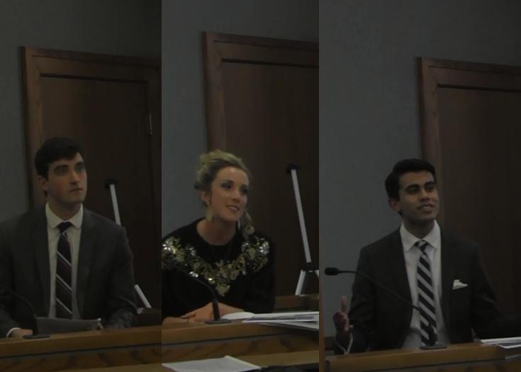 Plaintiff Witnesses: Matt Meeks, Katie (Maria) O'Keeffe, and Najeeb Ahmed
