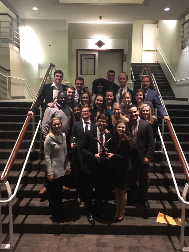 The Squad of the Threepeat! Miami Mock Trial won the team based tournament in Irvine in 2014, then again in Nashville in 2015, and a third time in 2016!