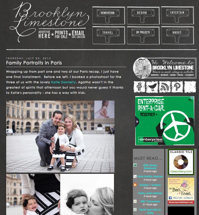 Katie Donnelly Paris Family Photographer - Brooklyn Limestone Family Photos