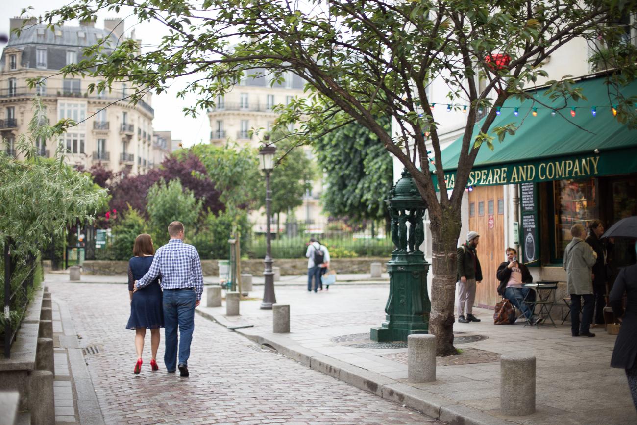 Paris, France Engagement Photographer I Latin Quarter Eiffel Tower Photo Shoot I Katie Donnelly Photography_021.jpg