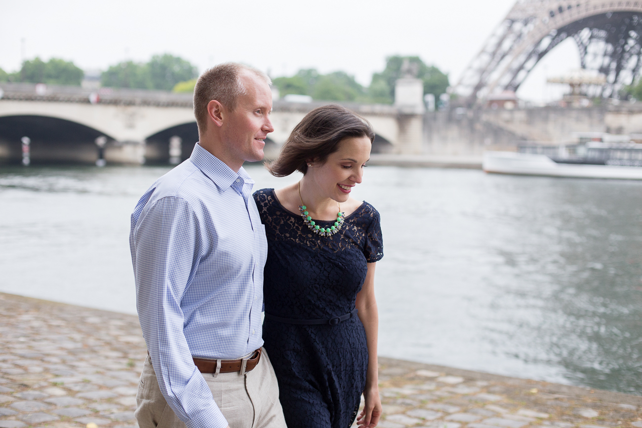 Paris, France Couples Photographer I Anniversary Eiffel Tower Photo Shoot I Katie Donnelly Photography_013.jpg