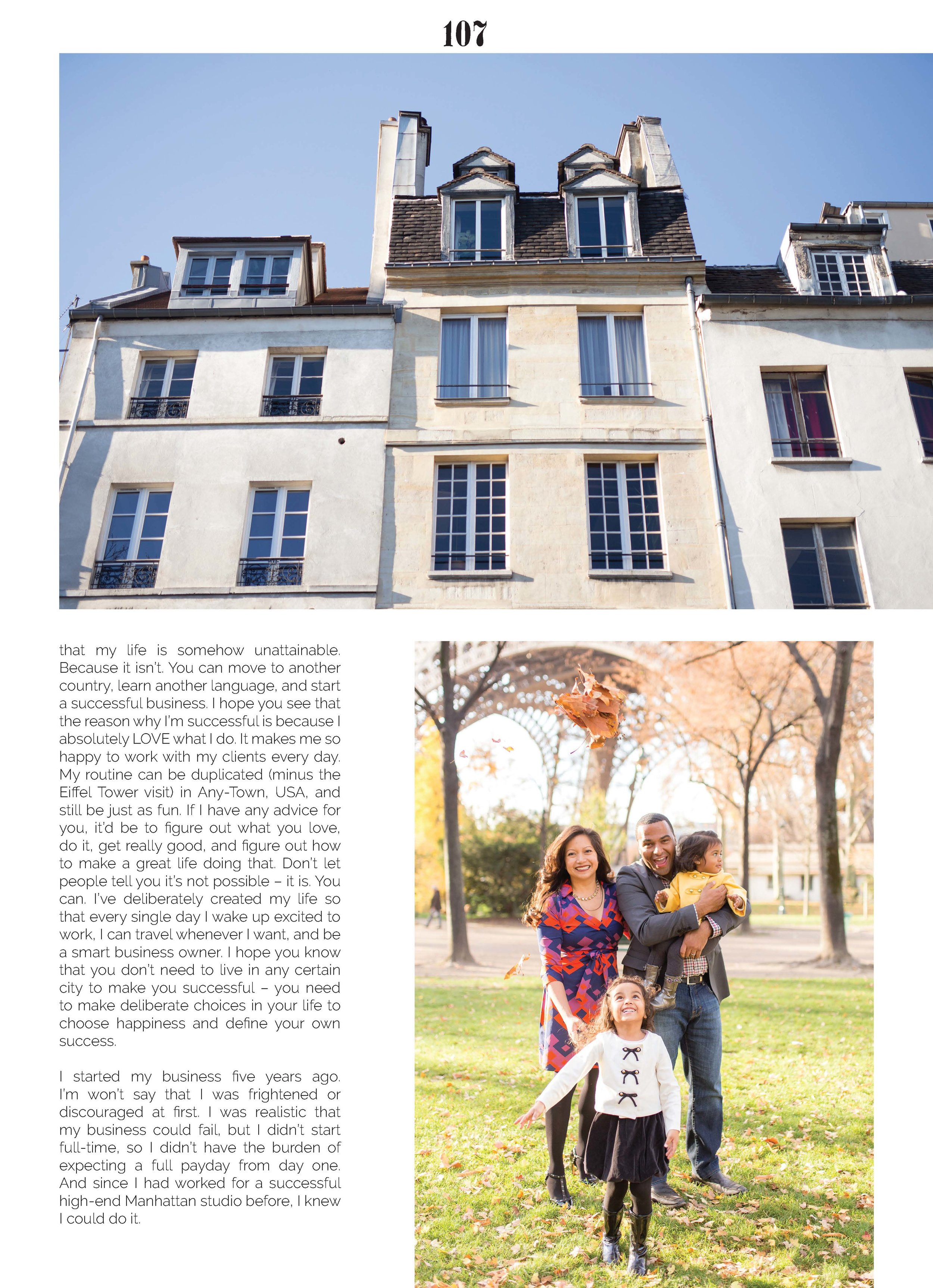 Best Paris Photographer interview, Katie Donnelly, with Luca Magazine