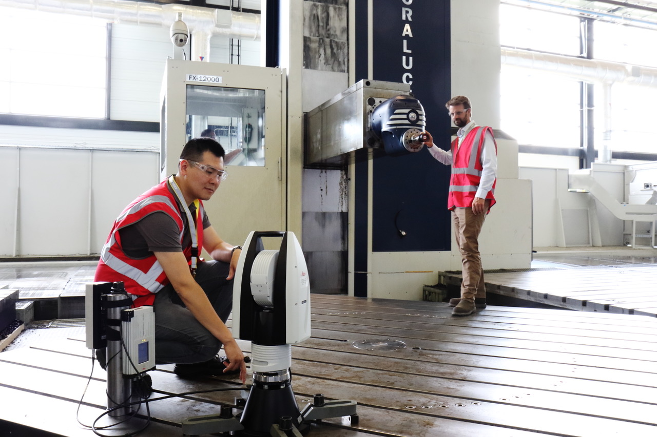 Early trials of BASELINE on the Soraluce FX1200 horizontal machining platform at the Nuclear AMRC.