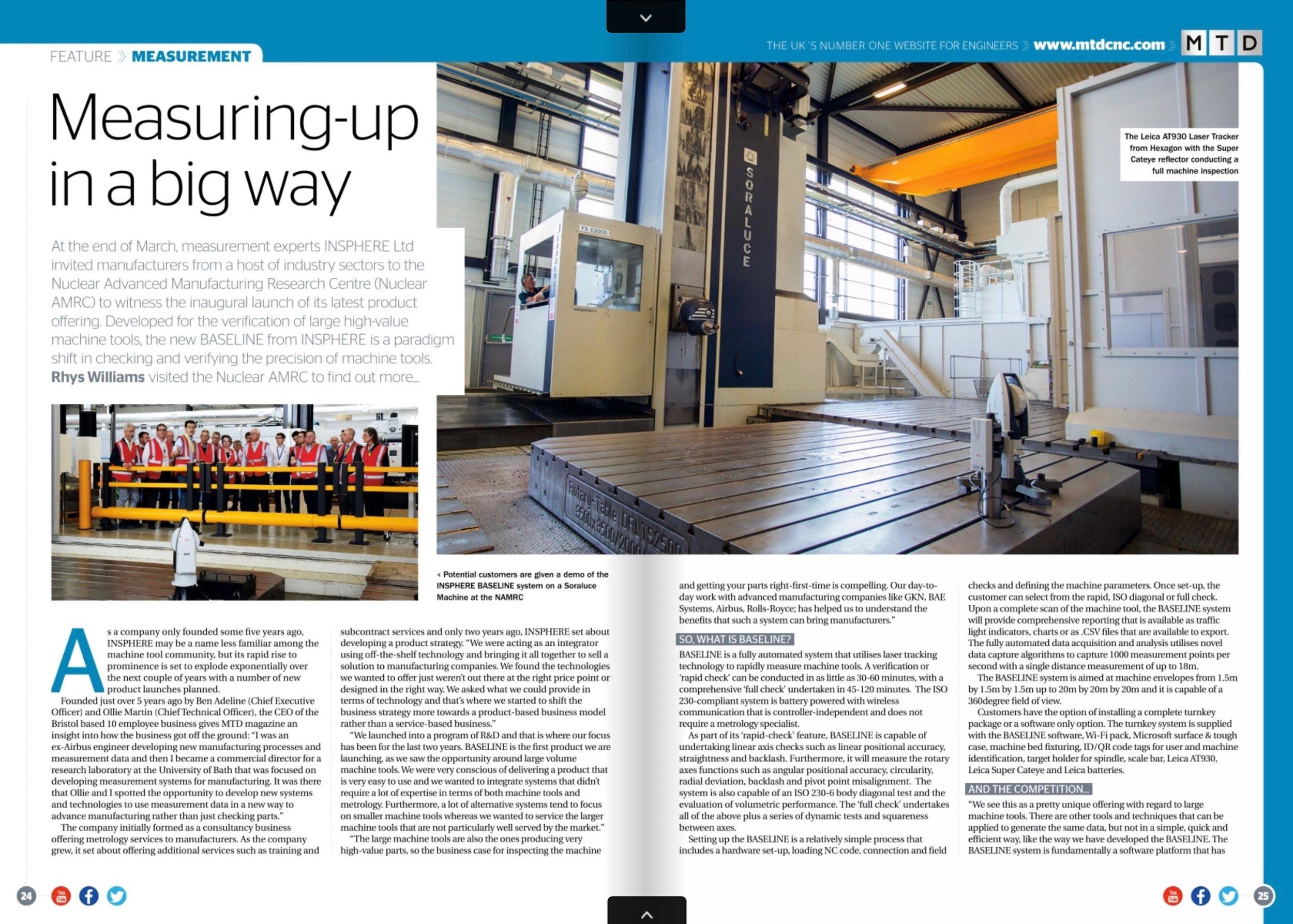 MTD CNC Magazine, May Edition, p.24