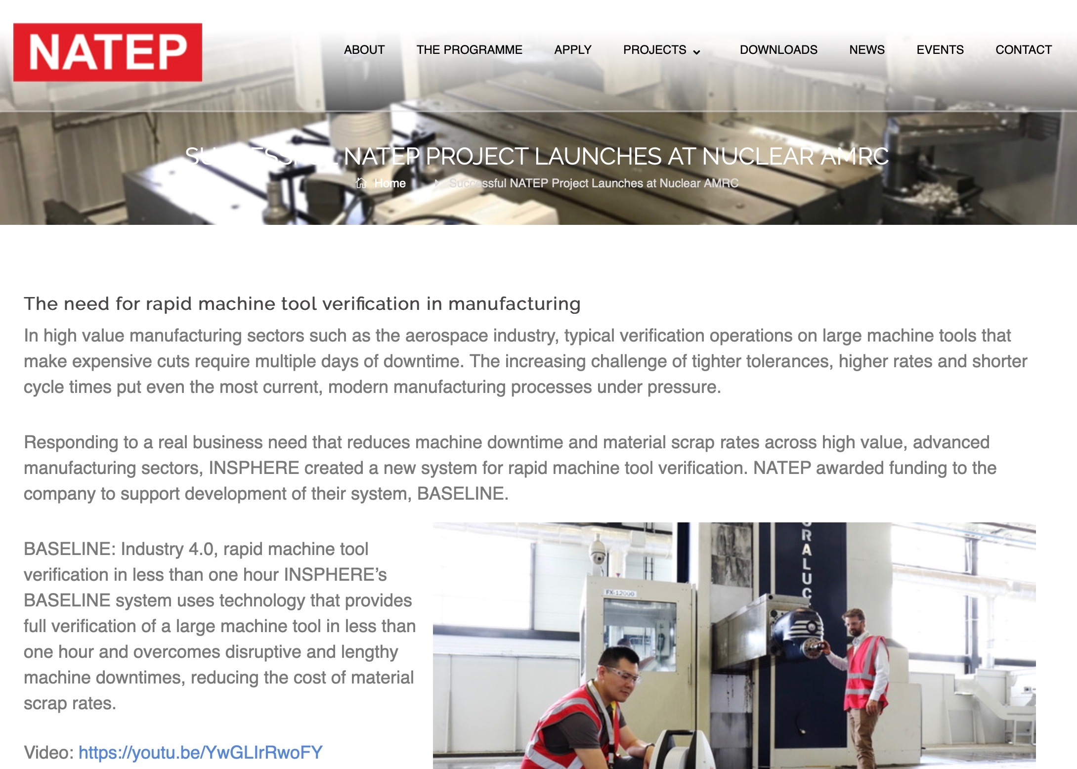 NATEP Project News