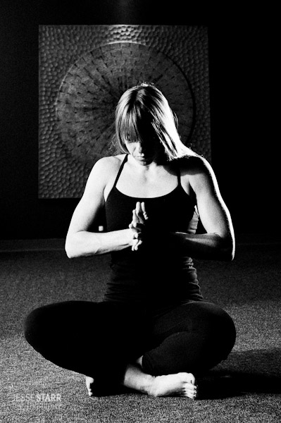 Denver Yoga Portrait Photography