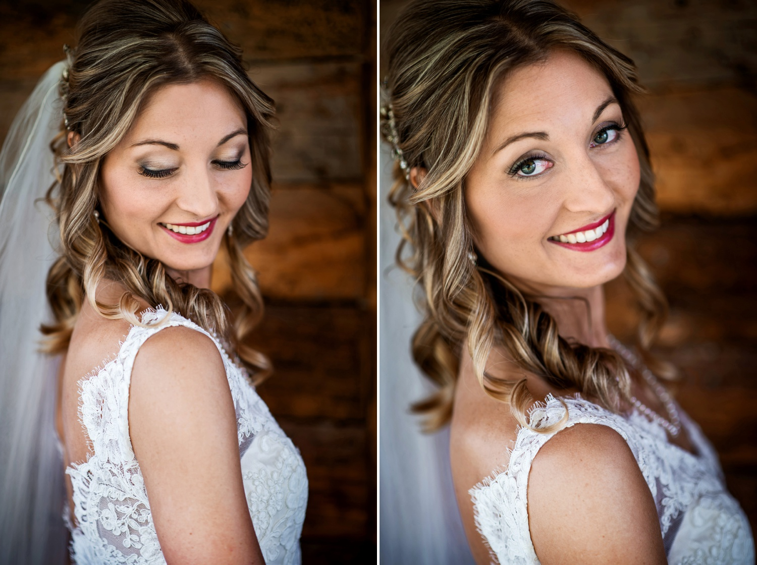 Photo of Bride at Ranch wedding at Perry-Mansfield in Steamboat Springs, Colorado