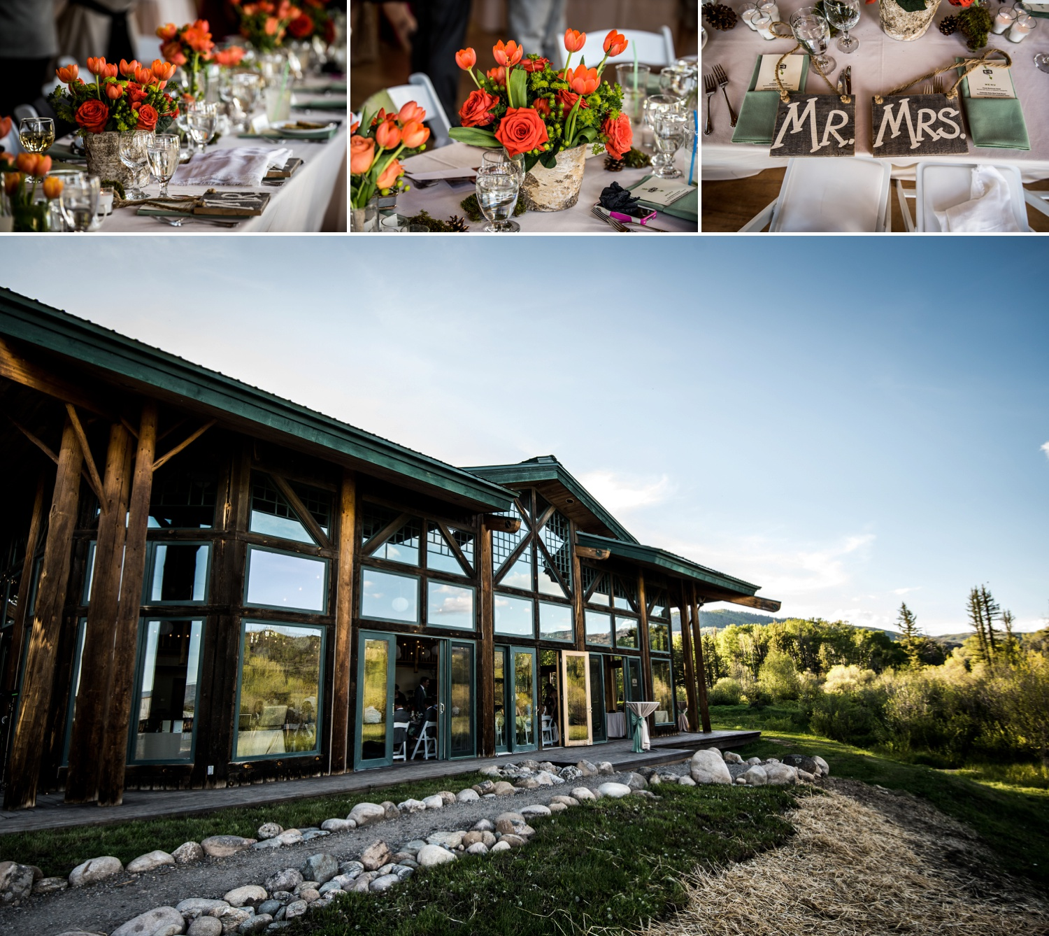 Steinberg Pavilion Wedding at Ranch wedding at Perry-Mansfield in Steamboat Springs, Colorado