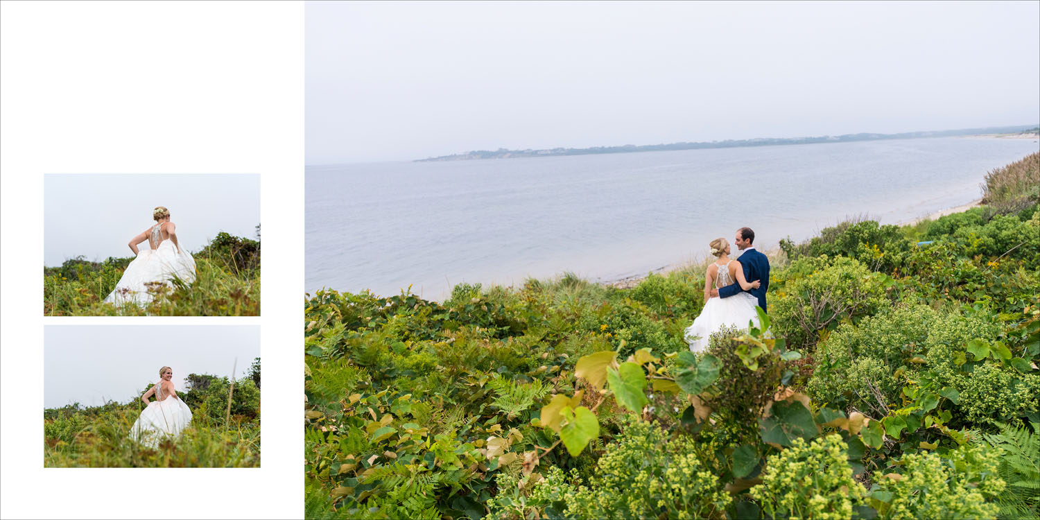 Megan & Seth - Nantucket Island Wedding Album Design