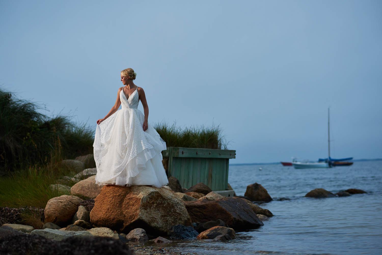 Megan and Seth's wedding on Nantucket island.