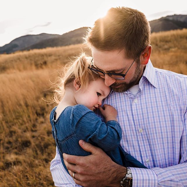 The connection between father and daughter often defies words. The protection and safety found only in Daddy's arms is something to treasure.