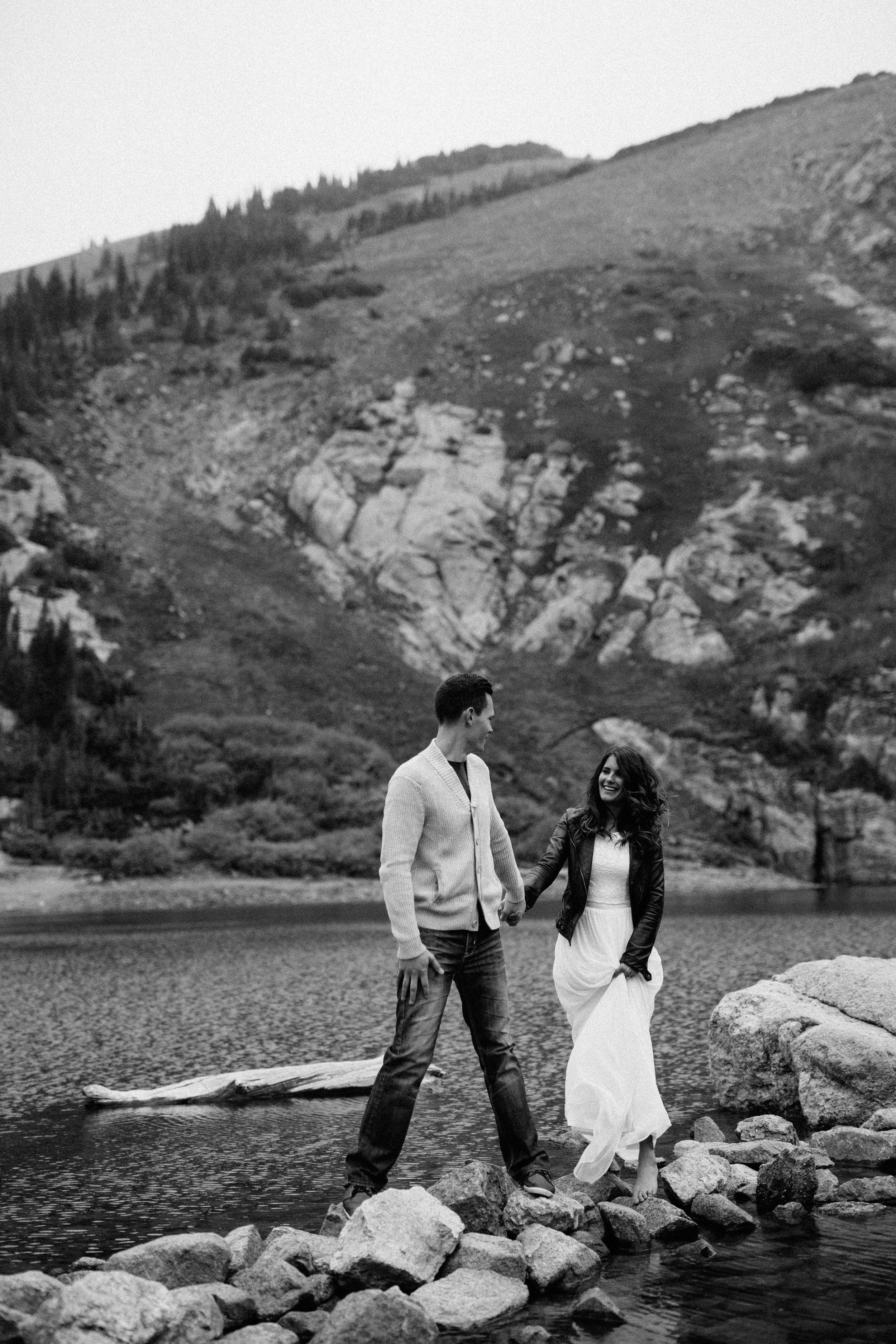 Wedding Photography at Saint Mary's Glacier, Colorado