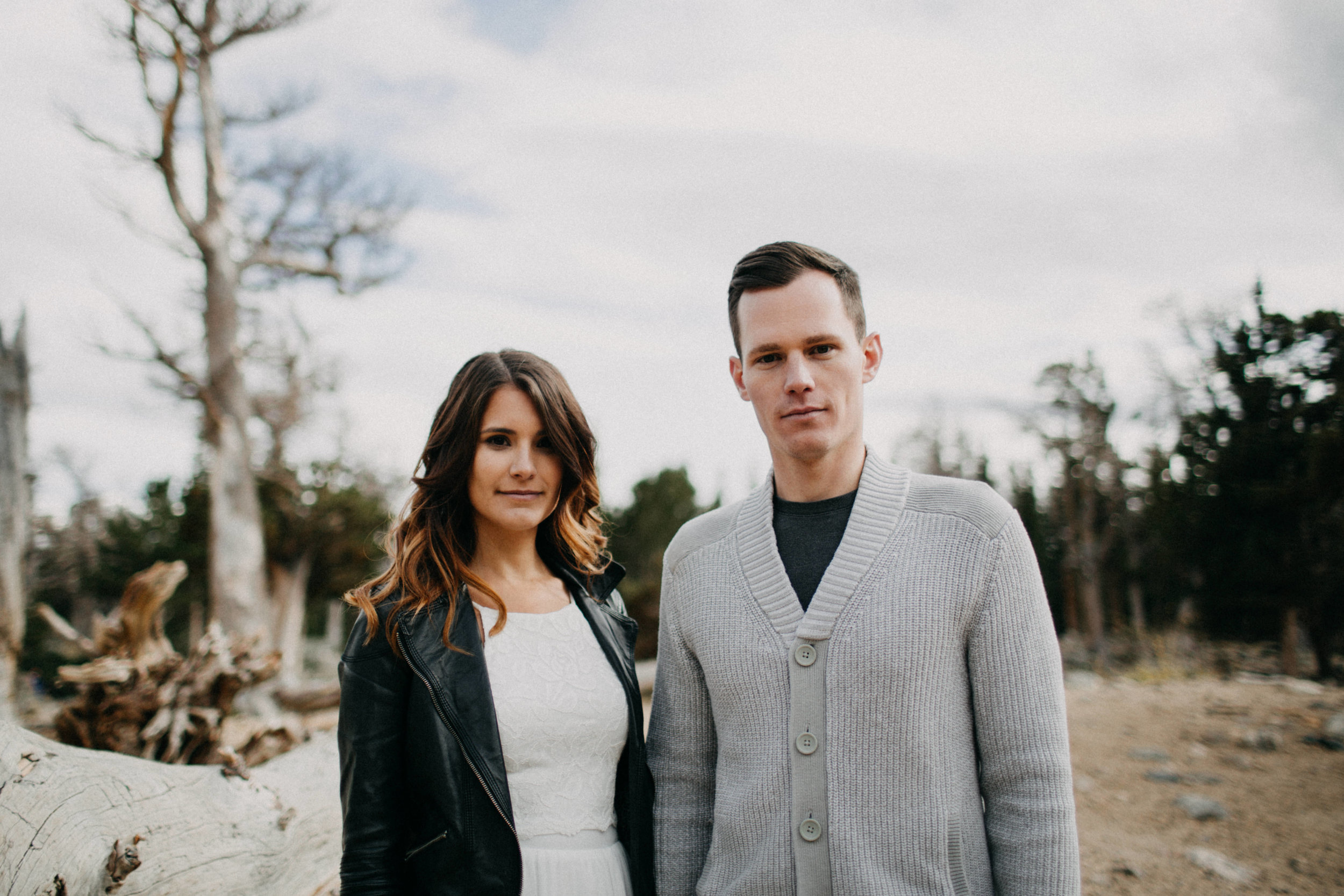Rocky Mountains Engagement Photography