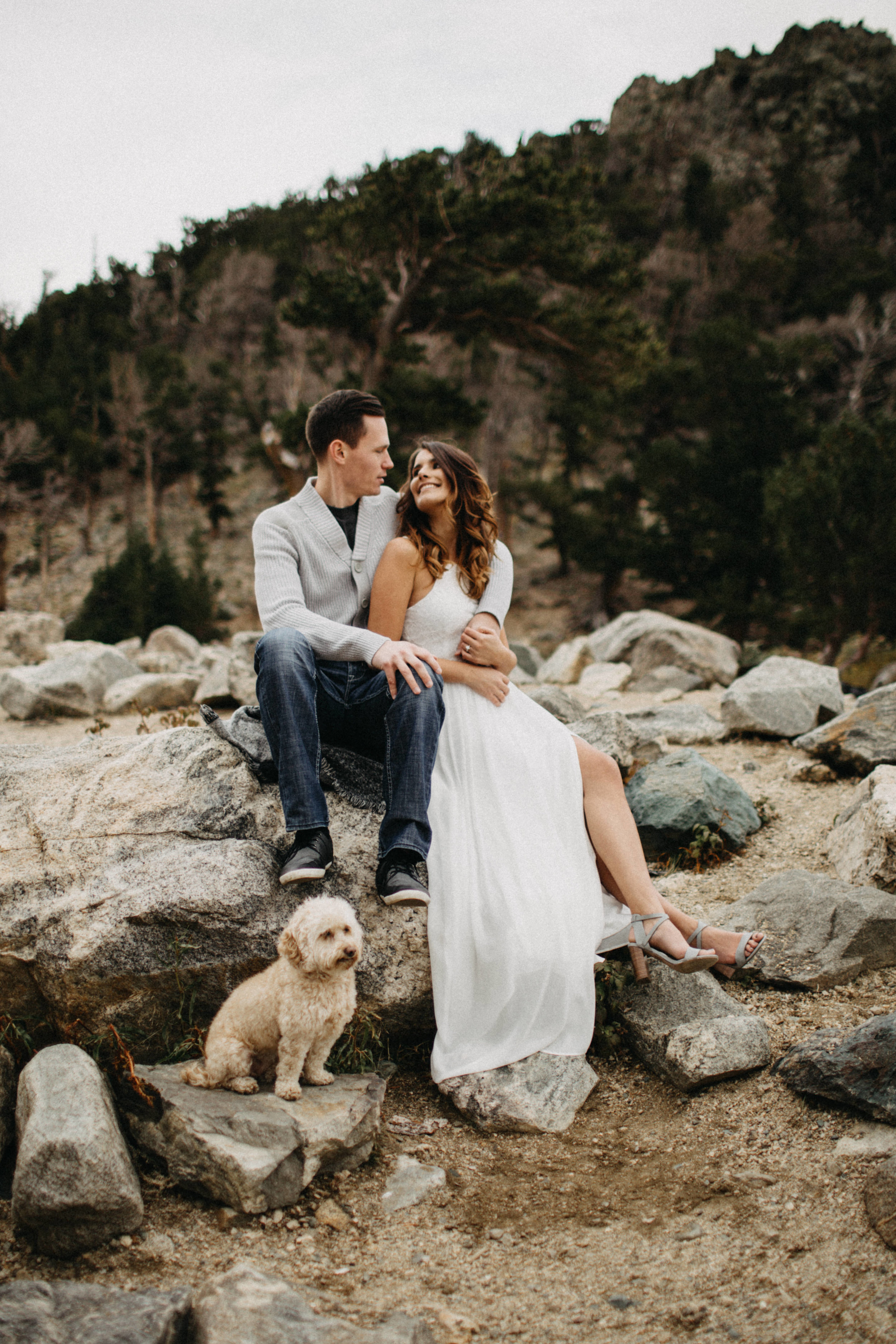Candid Engagement Photographer in Rocky Mountains, Colorado