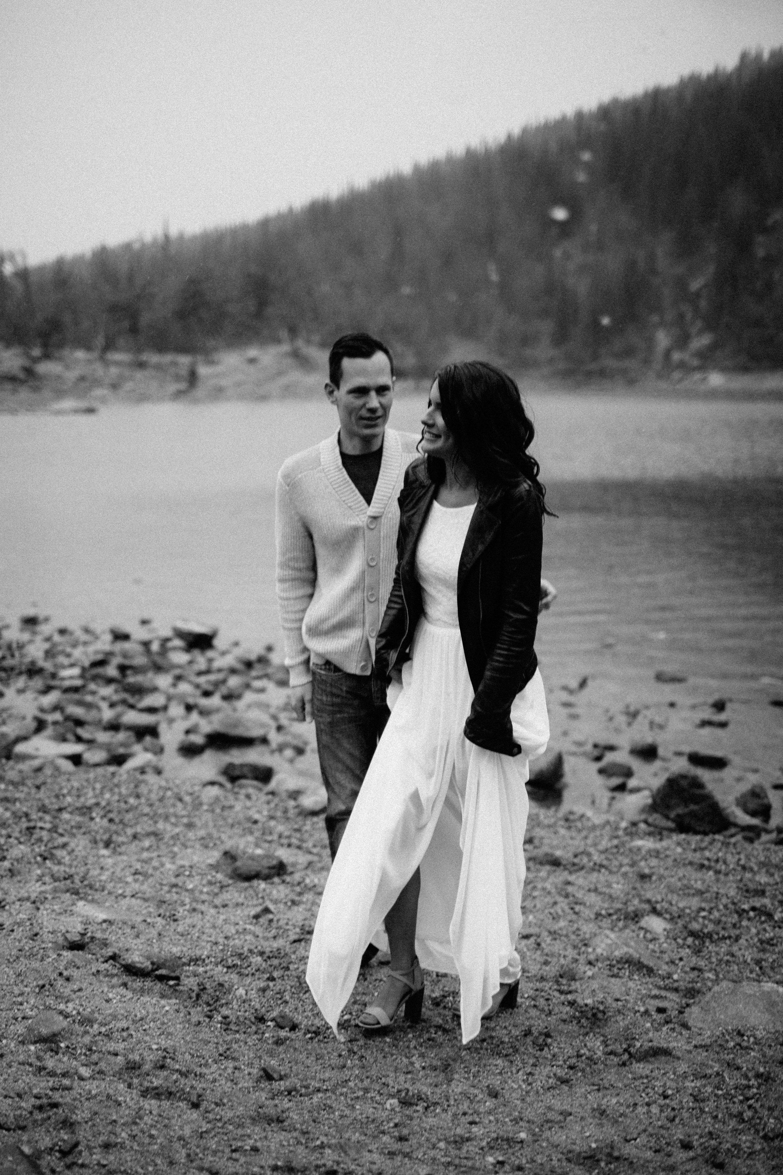 Saint Mary's Glacier Engagement Photography and Destination Wedding Photographers