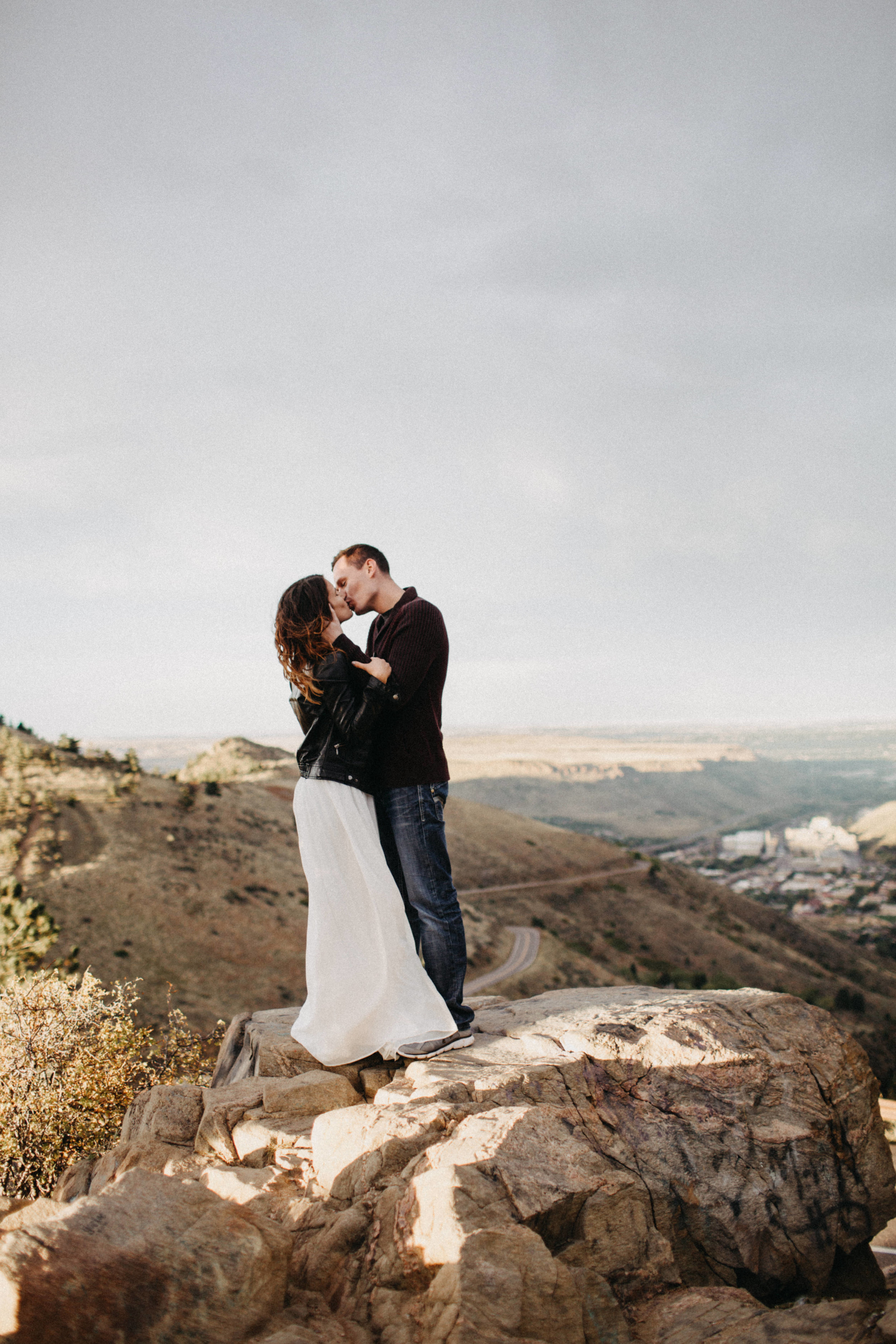 Destination Elopement Photographers at Lookout Mountain, Colorado