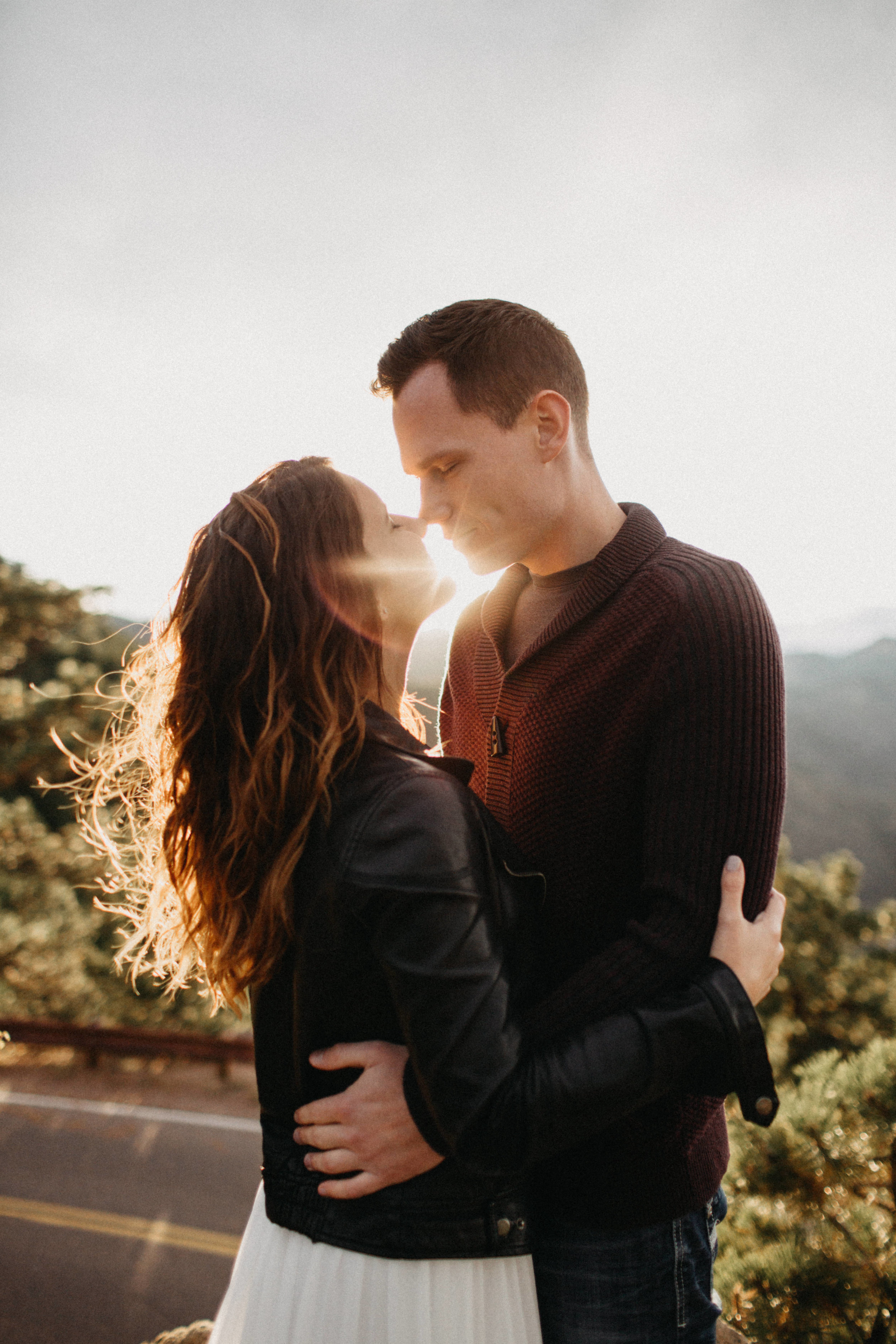 Lookout Mountain Engagement Photographers in Colorado
