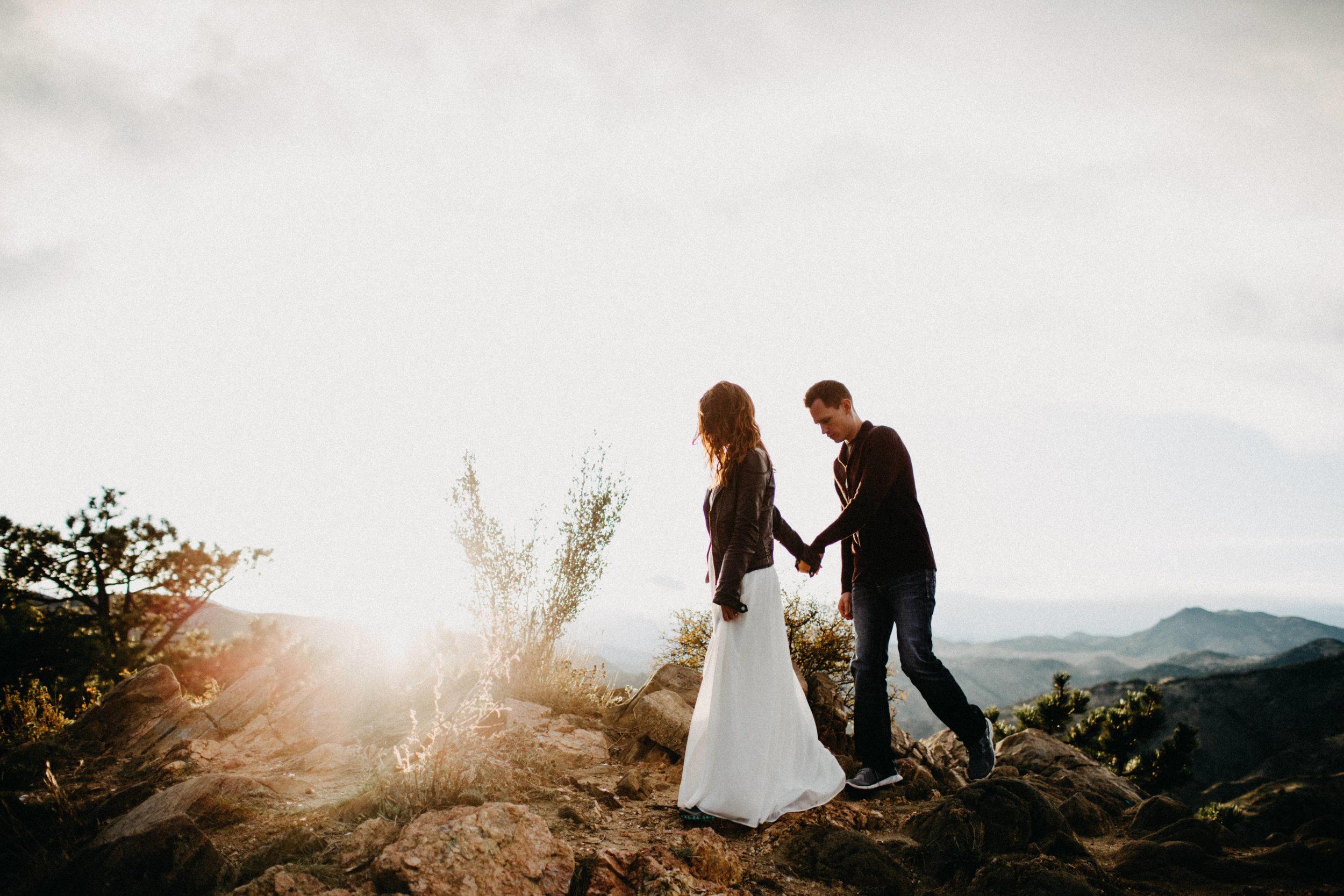 Elopement Photographers at Lookout Mountain, Colorado