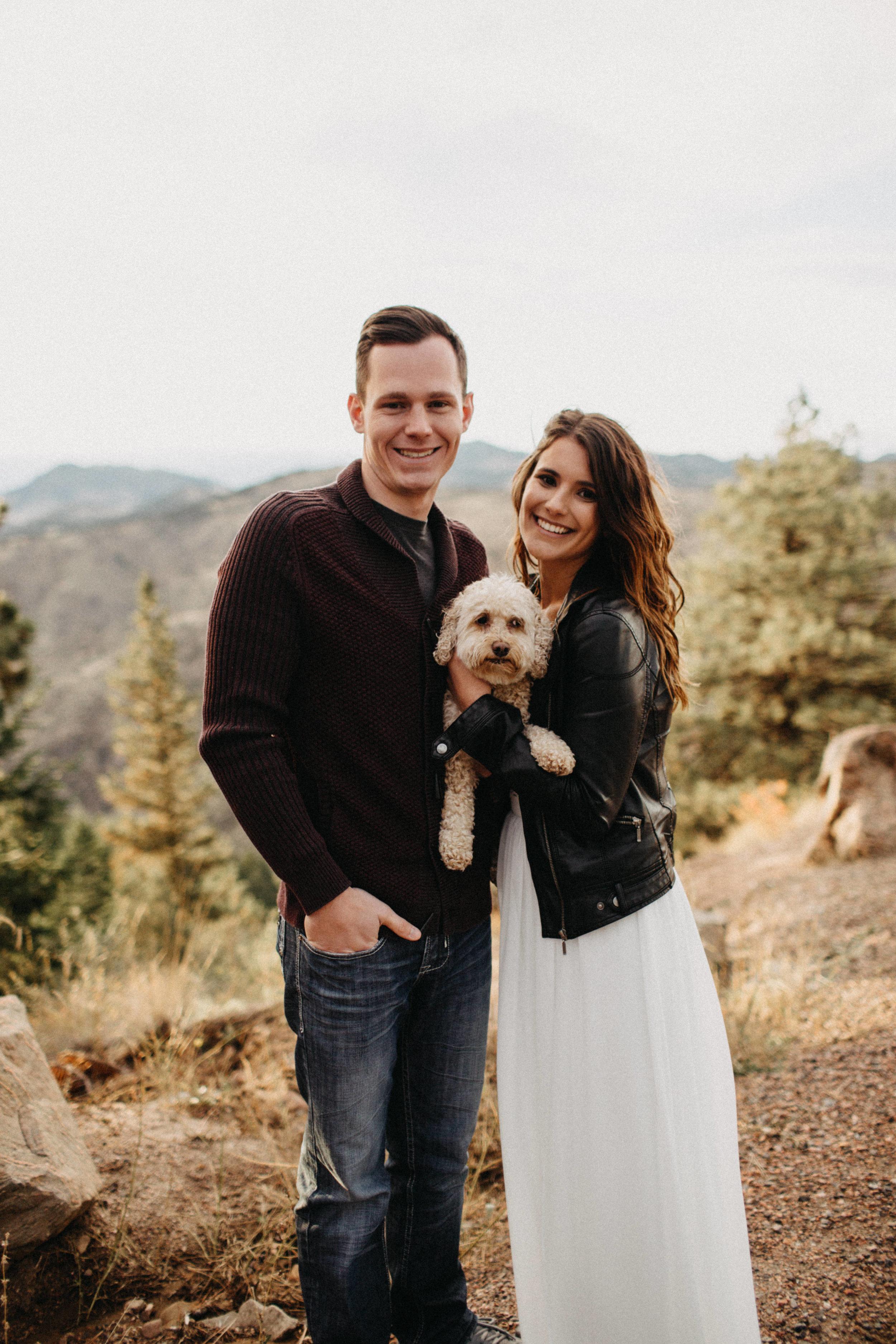 Adventurous Elopement Photography at Lookout Mountain, Colorado